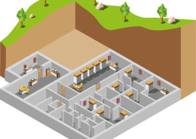 Lowerfloor bunker